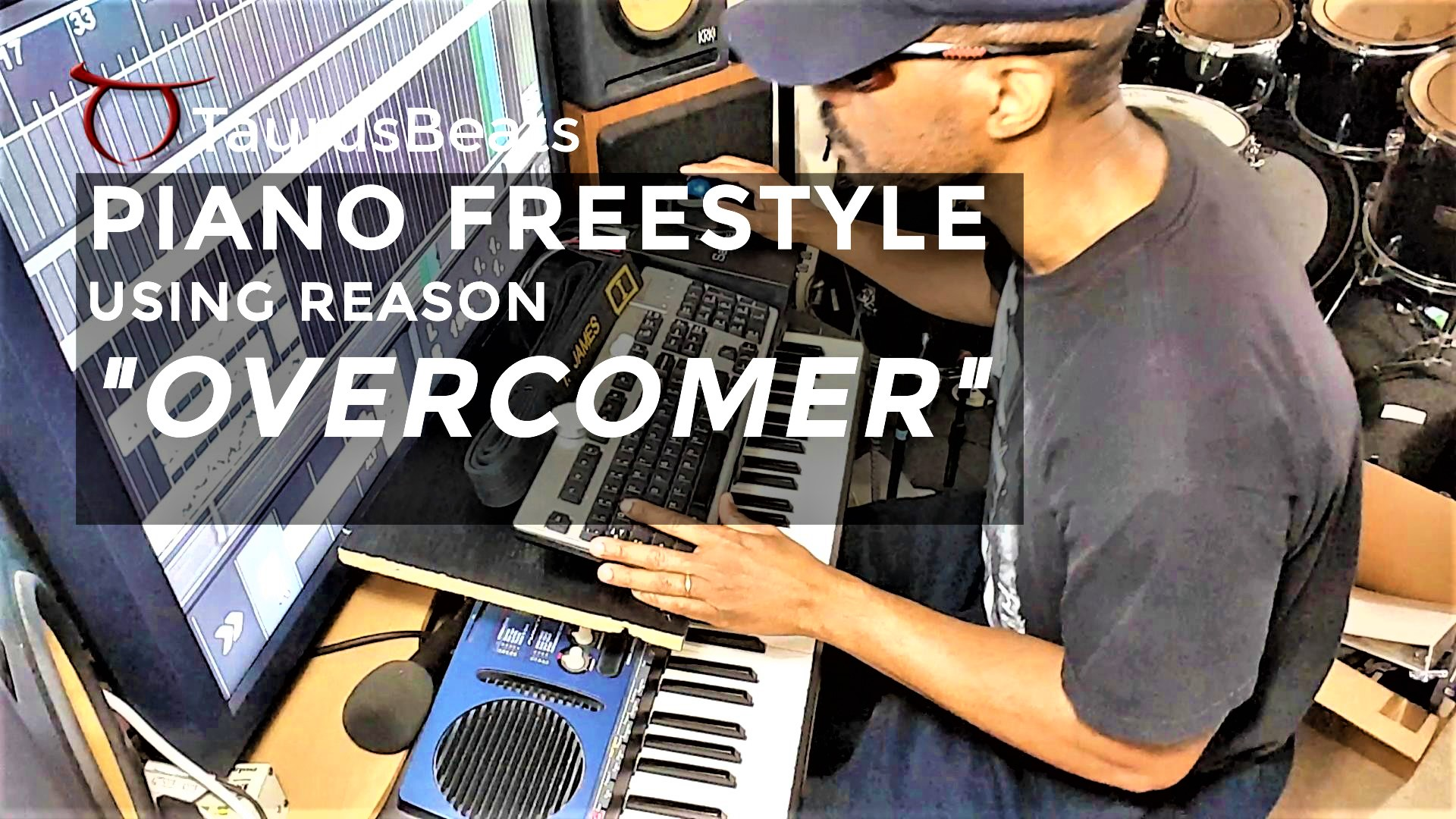 image for Piano Freestyle Beat Video - Overcomer