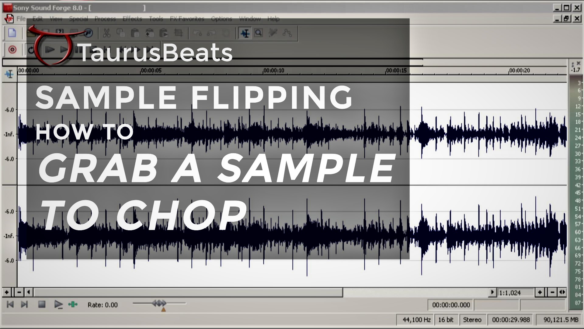 image for How To Sample A Song