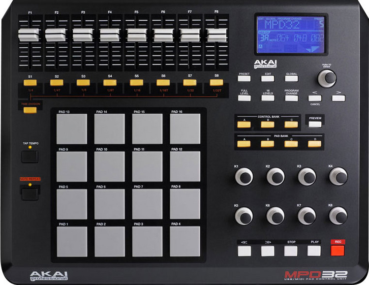 Maschine: beat making.