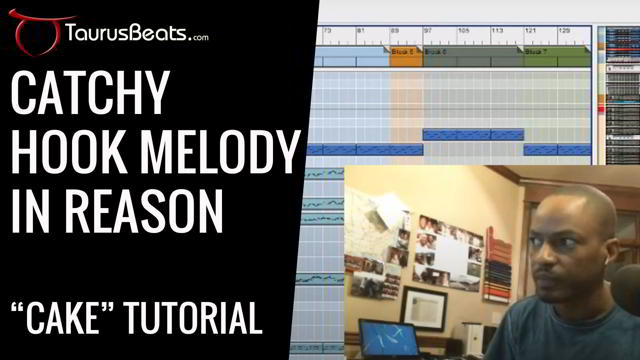 image for Catchy Hook Melody in Reason: Grooving In Reason Tutorial - Cake Part 4