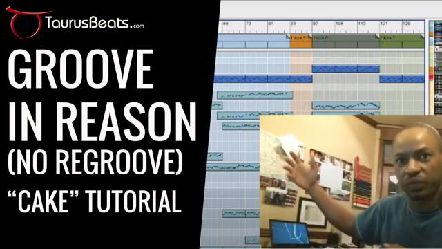 image for Groove in Reason without ReGroove: Grooving In Reason Tutorial - Cake Part 3