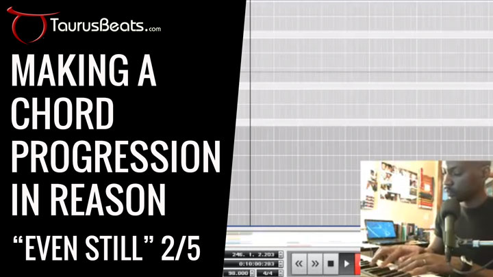 image for Making A Chord Progression In Reason - Even Still Part 2