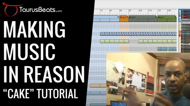 image for Making Music in Reason: Grooving In Reason Tutorial - Cake Part 5