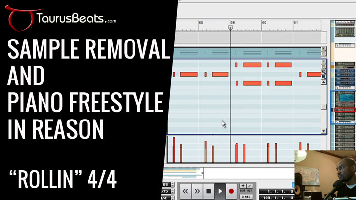 image for Sample Removal and Piano Freestyle In Reason