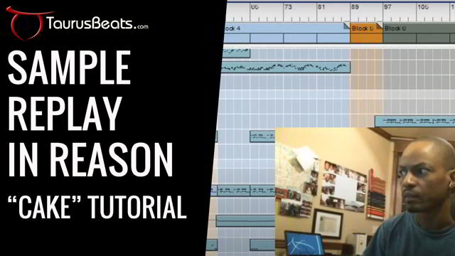 image for Music Sample Replay in Reason: Grooving In Reason Tutorial - Cake Part 2