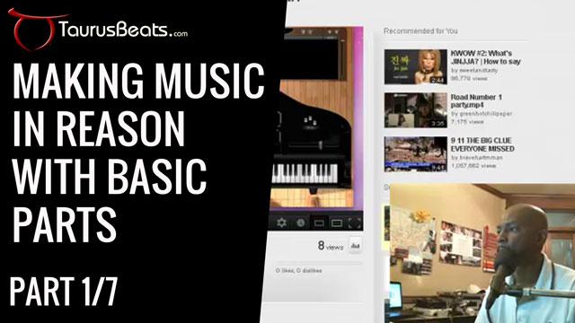 image for Making Music In Reason Starting Mindset