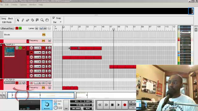 image for Reason Production Walk-through Session Love Avalanche Sample Flip Beat Video Tutorial