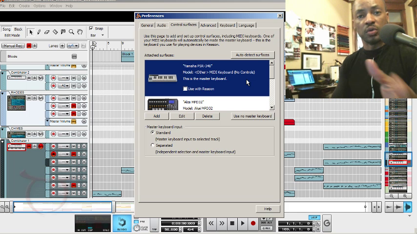 image for How To Setup Akai MPD32 In Propellerhead Reason