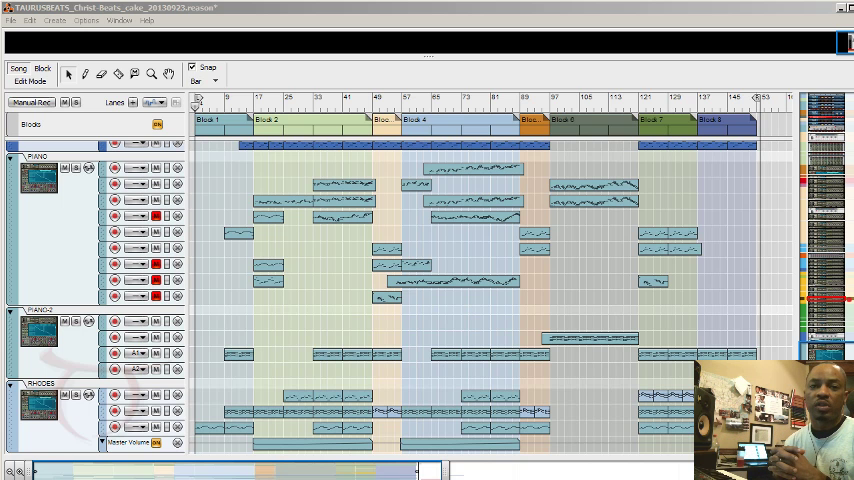 image for How To Arrange Beats in Propellerhead Reason