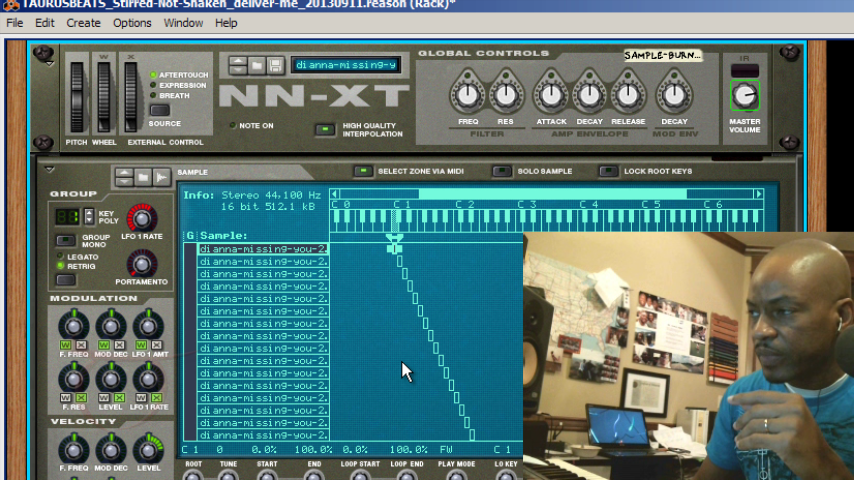 image for Reason Music Production: NN-XT Sample Flipping