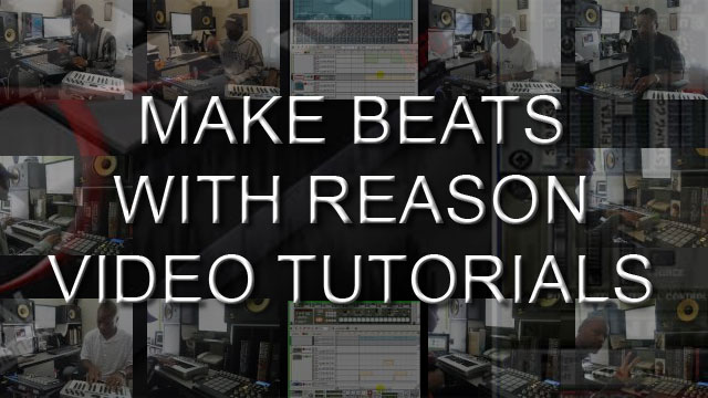 image for Learn How To Make Beats With Reason Tutorial Videos